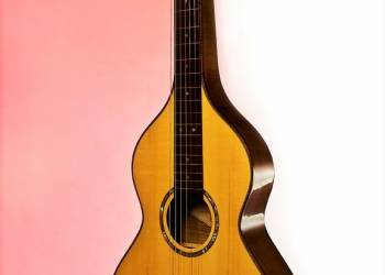 acoustic lap steel with spruce soundboard