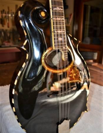 Gibson F-2 Mandolin Restoration